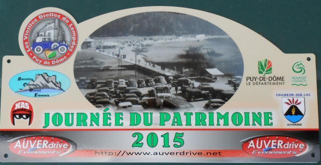 Journée du Patrimoine Automobile 2015